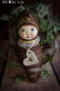 SOLD ~Fairy Cocoon Baby